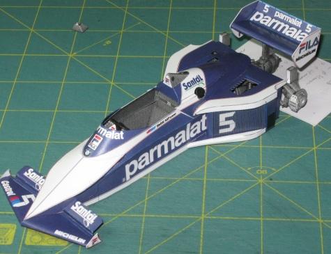 Brabham BT52B, N. Piquet, GP Italy 1983