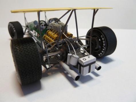 Brabham BT26 -2 verze - GP Germany GP Mexico-trénink