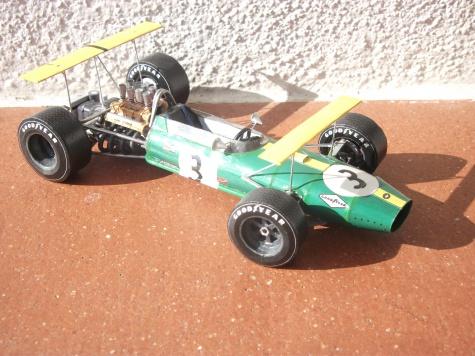 Brabham BT26, Jack Brabham, GP Mexico, 1968