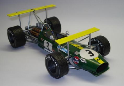 Brabham BT26 Brabham Mexico 1968