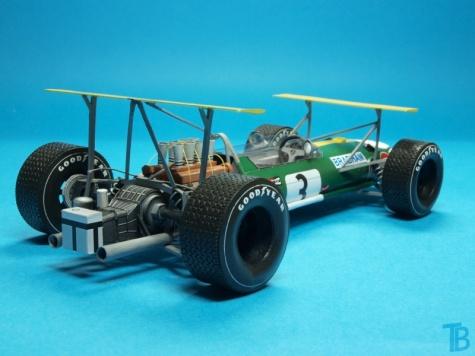 Brabham BT26 Mexican GP - závod, č. 3