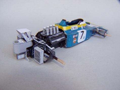 Brabham BT34, 1971, G. Hill