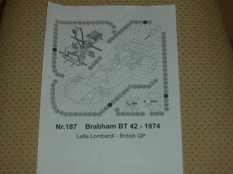 BRABHAM BT42 Lella Lombardi 1974
