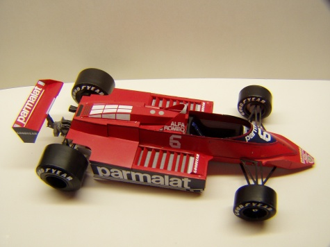 Brabham BT48, 1979, N. Piquet, GP Německa
