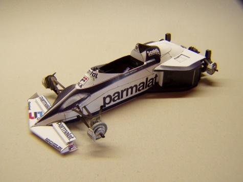 Brabham BT52, 1983, N. Piquet, GP Brazílie