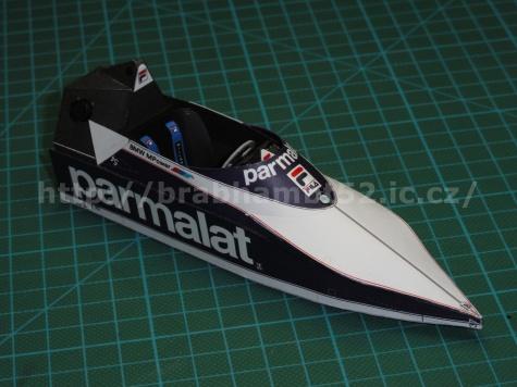 Brabham BT52B, R. Patrese, Vc JAR 1982