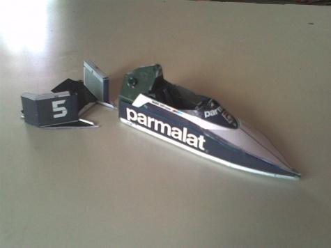 Brabham BT52B 1983 (Nelson Piquet)