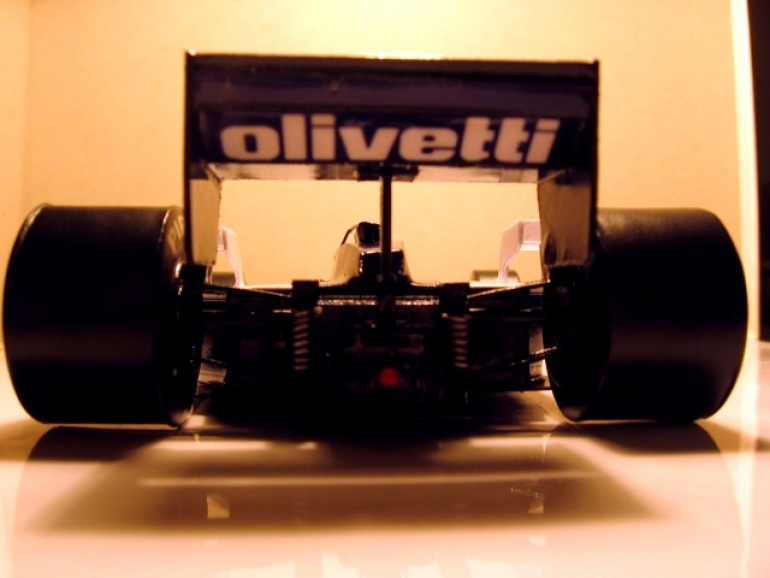 Brabham BT55 - Elio de Angelis - GP Monaco 1986