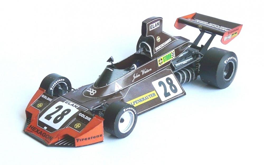 Brabham BT 44, 1974, J. Watson, GP Austria