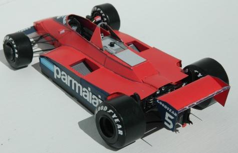 Brabham BT49 Ford - Niki Lauda - Canadian GP 1979 practice