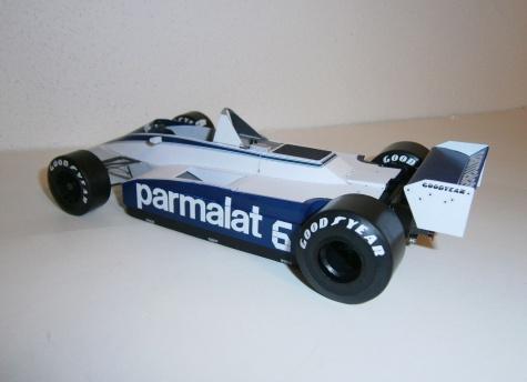 Brabham BT49 Ford - Ricardo Zunino, GP Argentine 1980