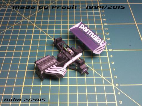 Brabham BT50 - (2) Riccardo Patrese