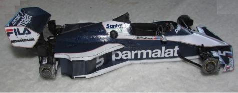 Brabham BT 52B_N.Piquet, GP Italy 1983
