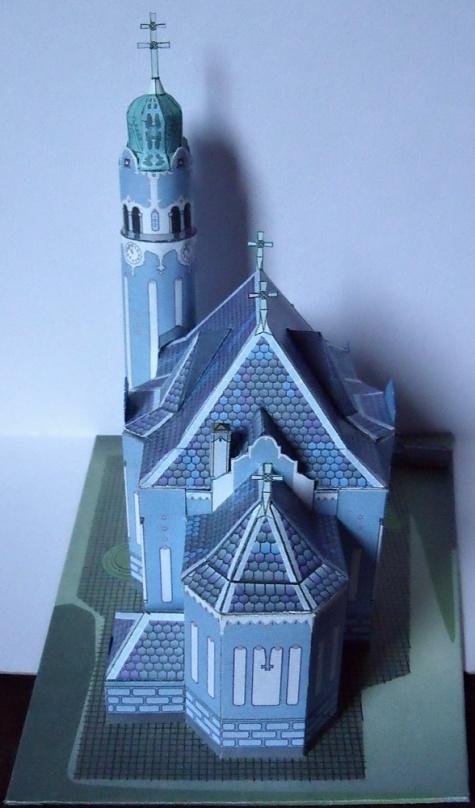 Bratislava - Modrý kostolík