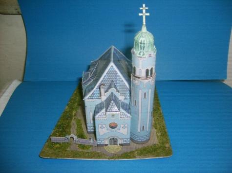 Bratislavský kostelík sv. Alžběty Uherské