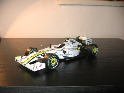 Brawn GP 001 J.Button, Monaco GP