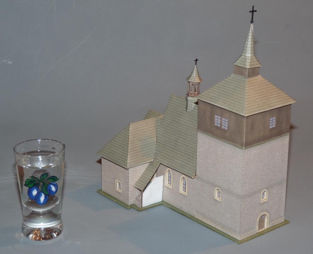 Březina kostel sv.Vavřince