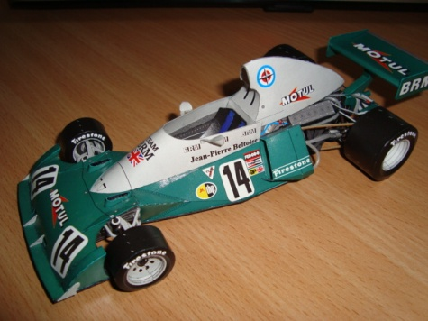 BRM P 201 - 1974 - J.P.Beltoise