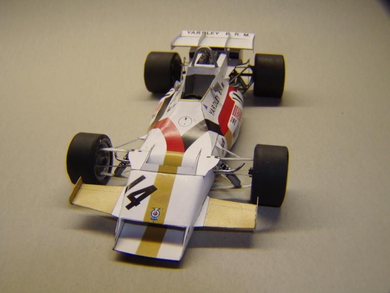 BRM P160, 1971, Jo Siffert