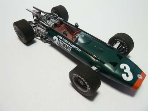 BRM P83 British GP´67 J.Stewart