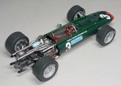 BRM P83 H16 - Jackie Stewart - GP V.Británie 1967