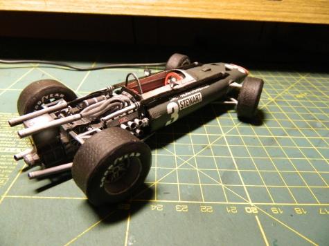 BRM P83 H16 Jackie Stewart