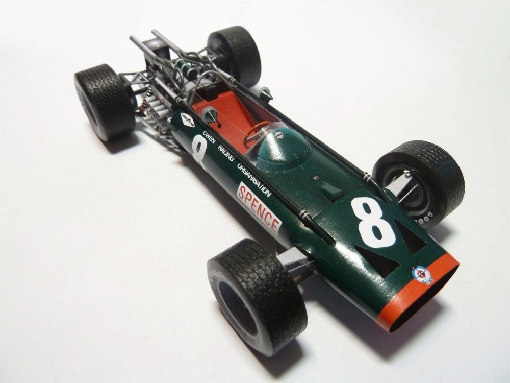 BRM P83 Mexico GP´67 Mike Spence