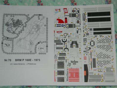 BRM P160E J.P.Beltoise Silverstone 1973
