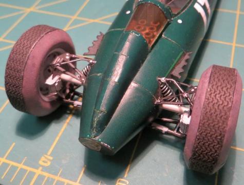 BRM P57, G.Hill, GP Holandsko 1962, víťaz
