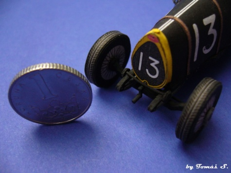 Bugatti 13 (1921) Brescia