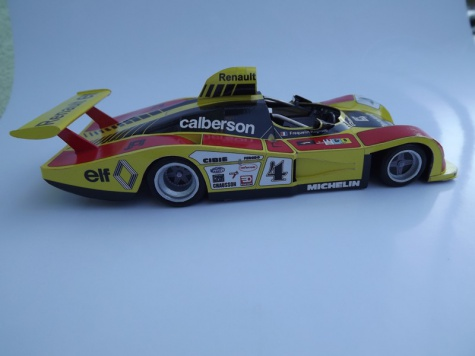 Calberson Alpine Renault A442A, Le Mans 1978