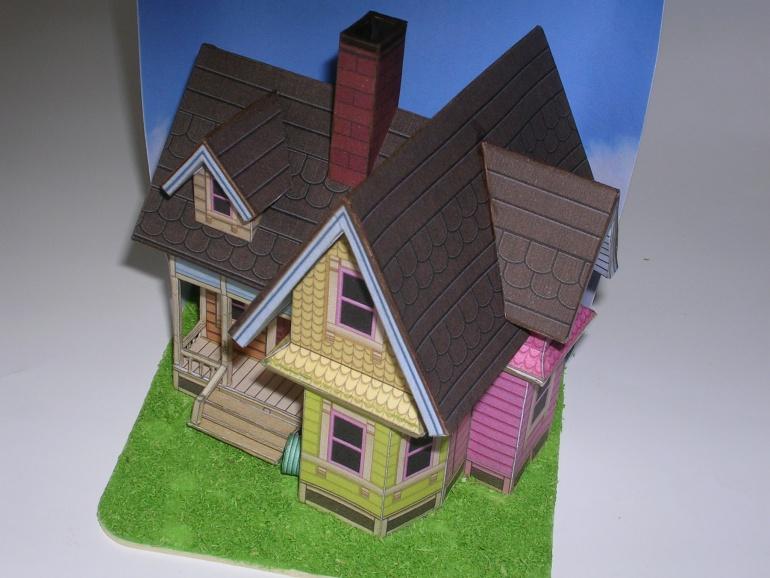 Carlův létající dům (Vzhůru do oblak)