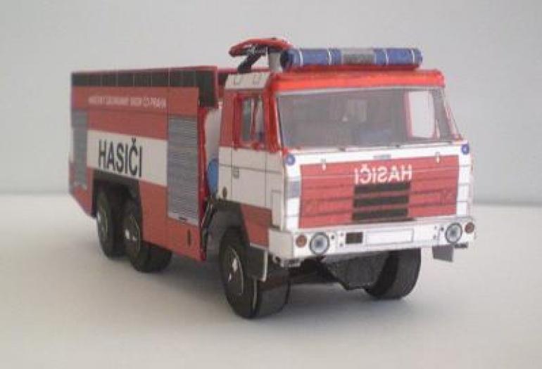 CAS 32 Tatra 815 6*6 HZS ČD Praha