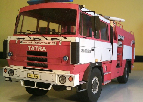 CAS K27 TATRA 815 4X4