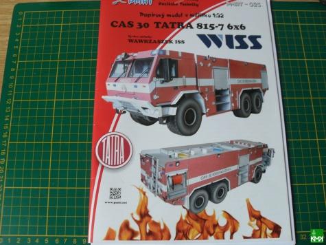 CAS 30 TATRA 815-7 WISS