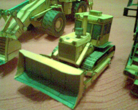 Cat 773F,Caterpillar 988H a T-100M