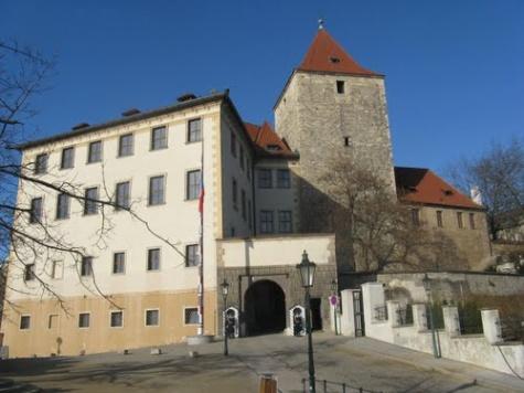 Černá věž pražského hradu