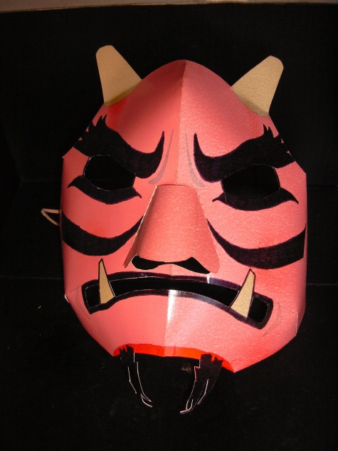 Čert - maska