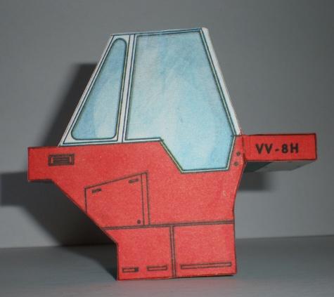 Cestný valec VV-8H
