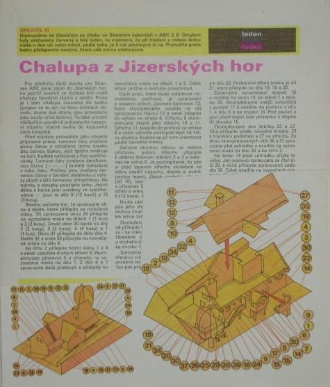 Chalupa z Jizerských hor