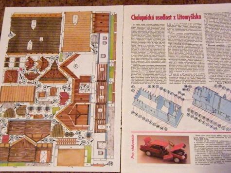 Chalupnícka usadlosť z Litomyšlska