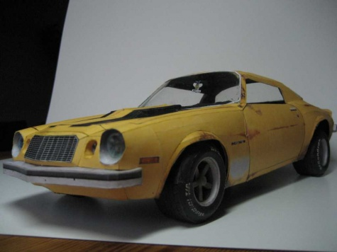 Chevrolet camaro 76 Bumble bee
