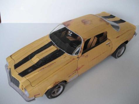 Chevrolet camaro 76 Bumble bee