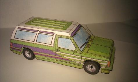 Chevy S-10 4x4 (dodávka, pick-up a volný čas)
