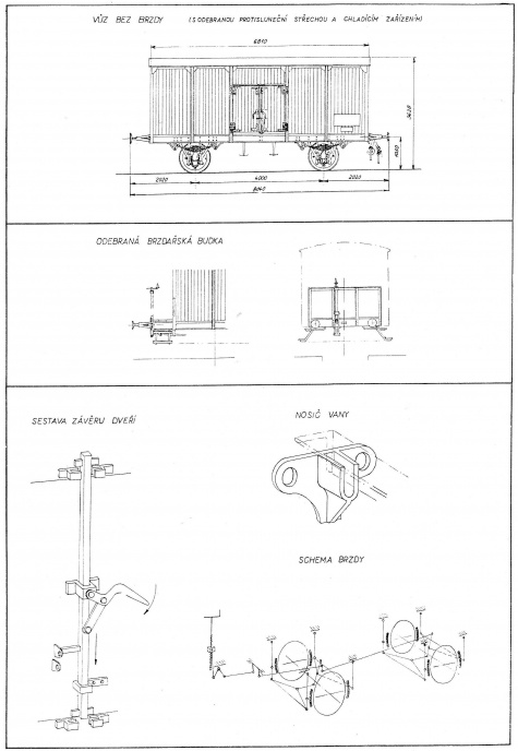 Chladící vůz L512225 z roku 1910