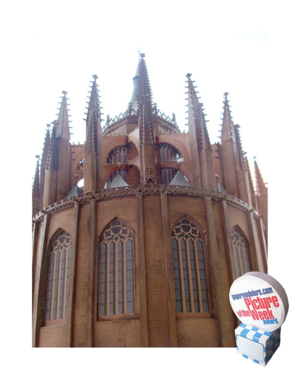 chrám Sv.Barbory v Kutné Hoře