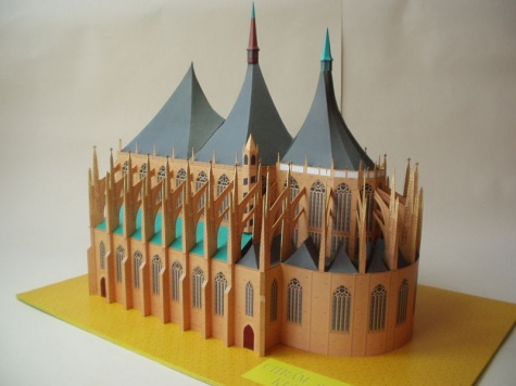 Chrám Svaté Barbory v KH