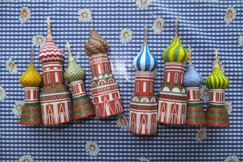 Chrám Vasila Blaženého - Moskva