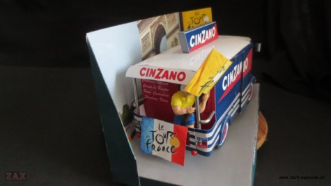 Citroen HY Cinzano 1965 Tour de France