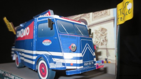 Citroen HY Cinzano 1965 Tour de France